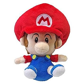 Little Buddy Toys Super Mario plush-5 &quot ...