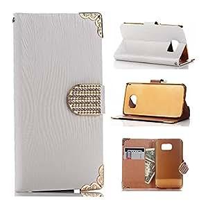S6 Case,Galaxy S6 Case,Galaxy S6 Case,Galaxy S6 leather Case,Creativecase Luxury Galaxy S6 Flip Case,Samsung Galaxy S6 Case,Fashion Galaxy S6 Leather Case With Flip ID Card wallet design Galaxy S6 Case Cover for Samsung Galaxy S6 01#Y10