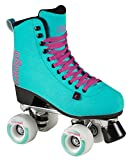Chaya Melrose Deluxe Turquoise Quad Indoor/Outdoor Roller Skates (Euro 41 / US 10)