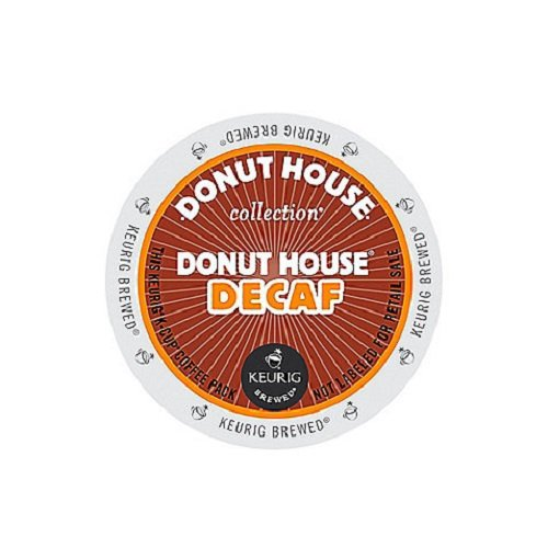 Donut House Light Roast (Donut House Collection Light Roast K-Cup for Keurig Brewers, Donut House Decaf Coffee (Pack of)