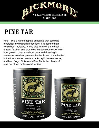 Bickmore Pine Tar 16oz - Hoof Care Formula For Horses by Bickmore (Image #2)
