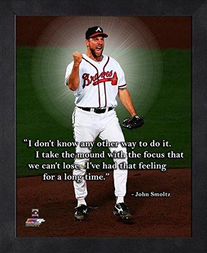 John Smoltz Atlanta Braves Pro Quotes Photo (Size: 9