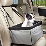 Jespet Travel Animals Cats Dogs Matter Companion Medium / Large Pet Car Booster Seat , Pets Up to 15-24lbs