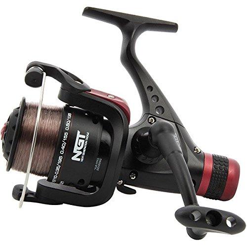 line sparespool 4BB ngt Nouveau ngt EX40 freerunner carp fishing reel twinhandle