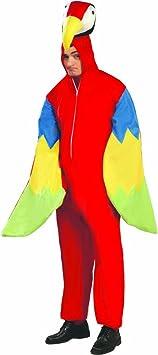 Disfraz papagayo Traje loro L 52/54 Vestimenta pájaro unisex ...