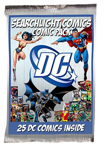 25 DC Comic Bundle + Bonus Searchlight Comics