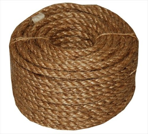 50' Contains Roll One (T.W Evans Cordage 26-099 1-Inch by 100-Feet 5 Star Manila Rope)