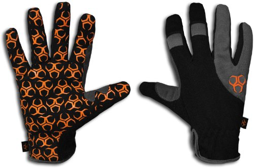 Grasper Work Gloves with Silicone-Infused Palms, 2X-Large ()