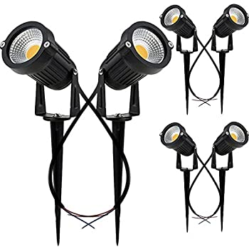 Greenclick Upgrade Led Outdoor Spotlight 4 Pack 12v Low Voltage