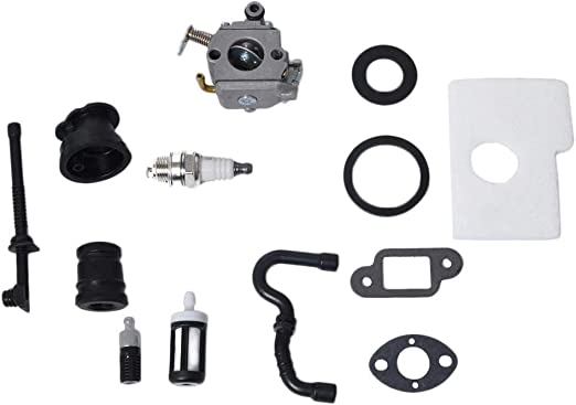 non-brand Carburetor Service Kit for STIHL MS170 MS180 017 018 Carb Chainsaw Fuel Line