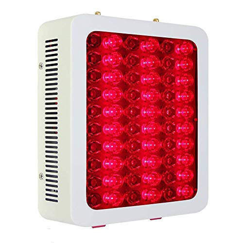 YUXINCAI 300W Red LED Light Therapy Lamp Red 660nm & Near Infrared 850nm Anti-Aging Muscle Performance, for Skin and Pain Relief