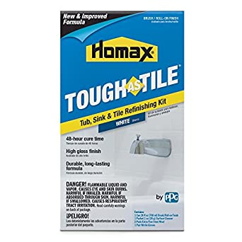 Homax 720773 Tub & Sink Brush-On One-Part Epoxy, 26-Ounce White ...