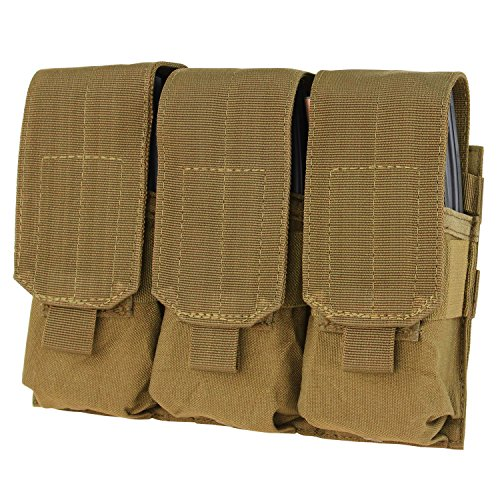 (Condor Triple M4 Mag Pouch Coyote Brown)
