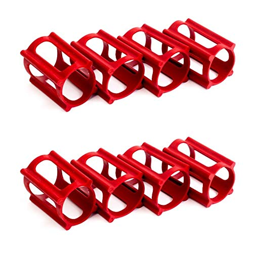 - Skater Trainers Multi-Pack - 2 Sets - 8 Total Peices (Red)
