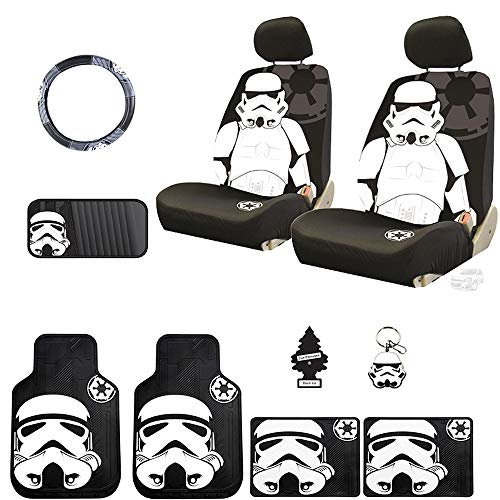 star wars stormtrooper seat cover - 3