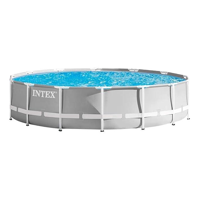 Intex 26720NP Piscina elevada redonda, con depuradora, 427 x 107 cm