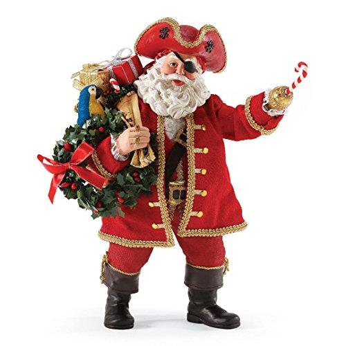 Department 56 Possible Dreams Treasure Hunters Santa (Possible Santa Dreams 56)
