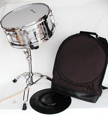 Top Snare Drum Set con soporte, funda y accesorios: Amazon.es: Instrumentos musicales