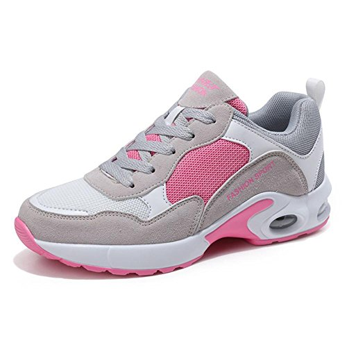 Zapatos atléticos para mujer Zapatillas de deporte de malla casual para caminar - Zapatillas de deporte transpirables de verano d