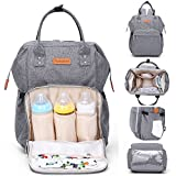 Diaper Bag Backpack Multi-Function Waterproof Travel Backpack Maternity Nappy Bags for Mom with Baby - Large Capacity, Stylish and Durable