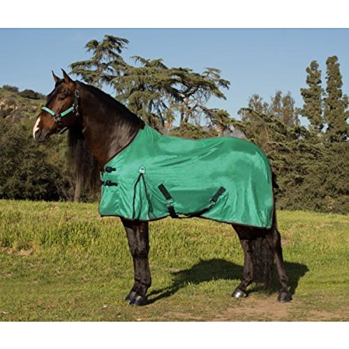 Kensington All Around Fly Sheet, Teal/Black/Grey, Size 69