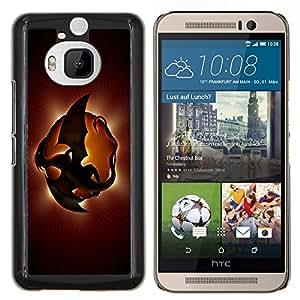 "Be-Star Único Patrón Plástico Duro Fundas Cover Cubre Hard Case Cover Para HTC One M9+ / M9 Plus (Not M9) ( Dragón Planet"" )"