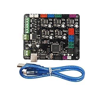 TWP MKS Base V1.5 3D Placa de control de impresora con USB Mega ...