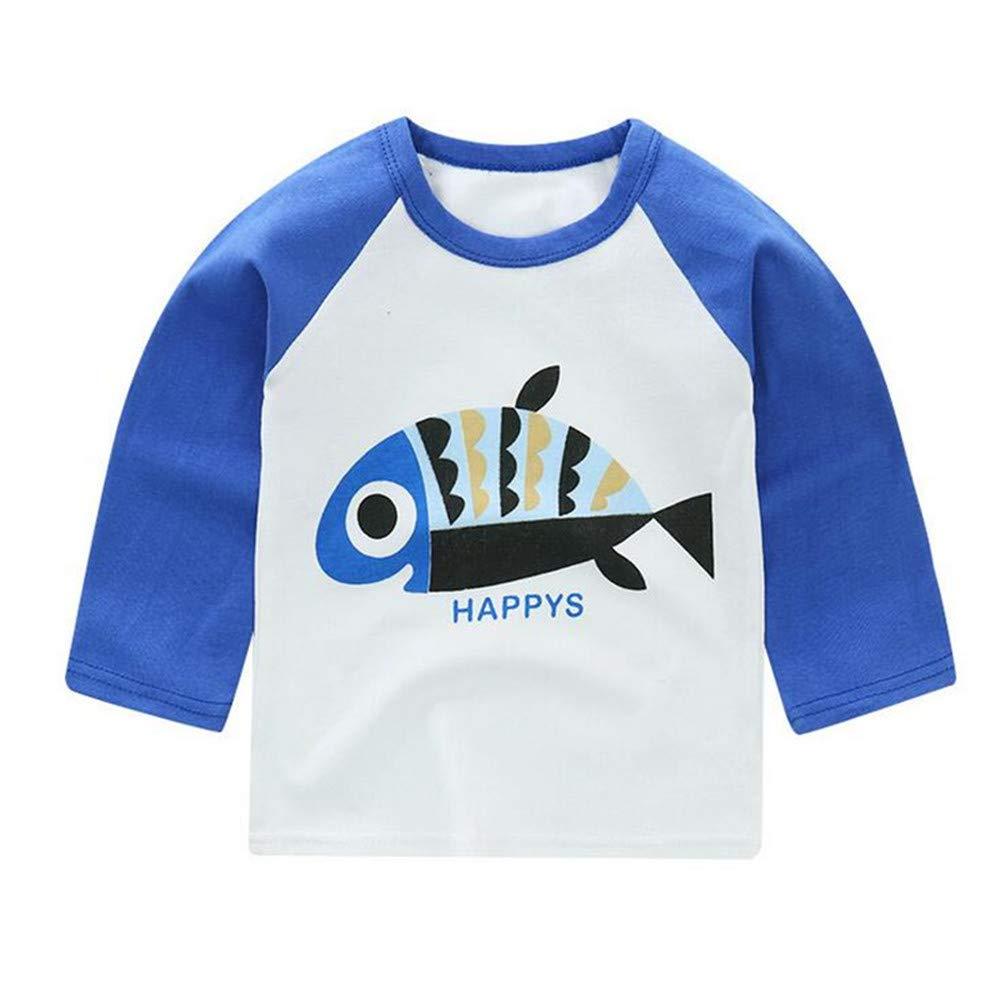 liu guifang Cartoon Baby T Shirt Baby Boys Girls Tops Tee Shirt Long Sleeve Kids Clothes