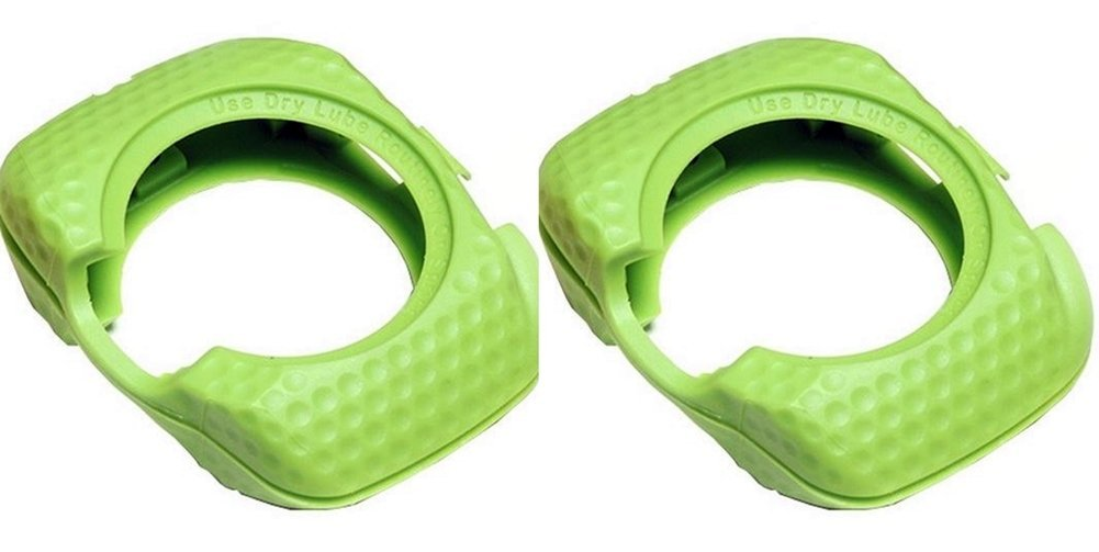SPEEDPLAY Walkable Cleats REPLACEMENT Covers for ZERO AERO (Team Green) by SpeedPlay