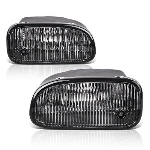 Fog Lights For Jeep Grand Cherokee 1999 2000 2001 2002 2003 (OE Style Clear Lens w/ H12 12V 53W Bulbs)