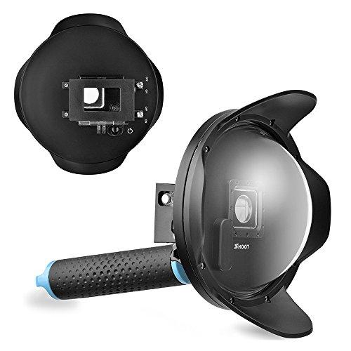 "SHOOT 2.5 Version 6"" Underwater Diving Dome Port Lens"