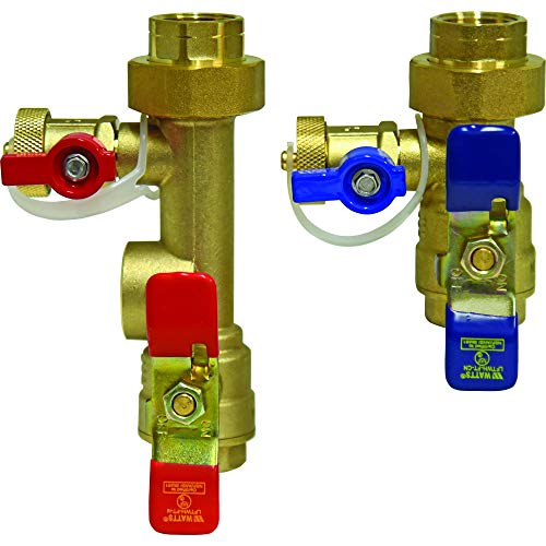 Watts LFTWH-FT-HCN Service Valve Kit for Tankless Water Heater ()