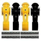 4 Tornado Foosball Men Counter Balanced Roll Pin