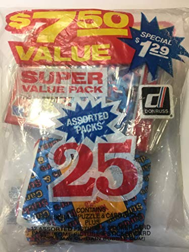 1984-85 Donruss Value Pack Action All-Stars, BMX And Cards & Stickers Packs