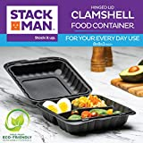 Eco-Friendly Meal Prep Containers 3 Compartment