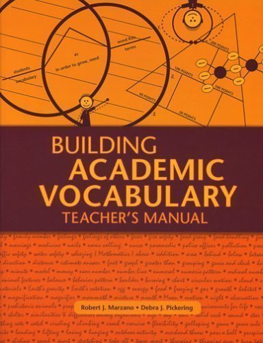 Building Academic Vocabulary: Teacher's Manual 1st (first) Edition by Marzano, Robert J. published by Association for Supervision & Curriculum Developme (2005)