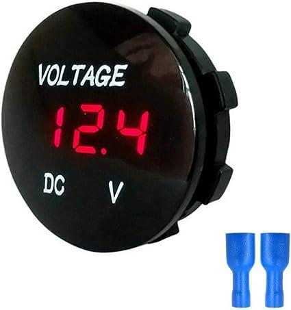 DC DC 8-30V Universal Volt Meter Red Digital Display Voltage Gauge for Car