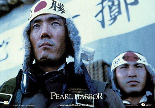 Pearl Harbor original lobby card Japanese pilot - Exclusive Genuine Pearl
