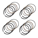 AHL 62mm Piston Rings for Yamaha YH50 Why 1998 Replace 4JH-11603-00-00 (4 Sets)