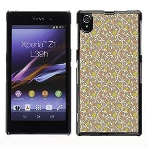 ZECASE Funda Carcasa Tapa Case Cover Para Sony Xperia Z1 L39H No.0004099