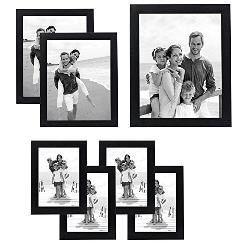 Americanflat 7 Pack - Gallery Wall Set - Includes: An 11x14