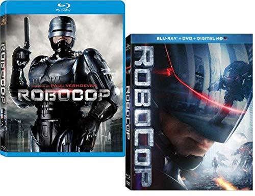 Robocop (1987) / Robocop (2014) Double Feature Blu-ray + DVD + Digital HD