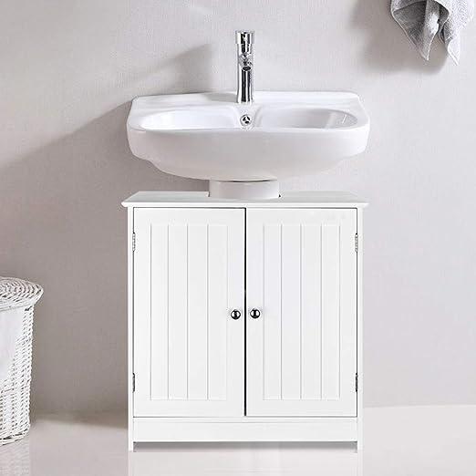 Amazon Com Ssline Under Sink Vanity Cabinet Free Standing
