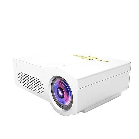 Proyector, Mini Pico Proyector Doméstico, Interfaz USB/TF/AV/HDMI ...
