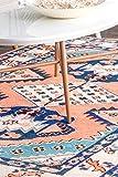 nuLOOM Dolores Tribal Wool Area Rug, 4' x 6', Orange