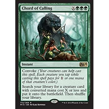 Amazon.com: Magic: the Gathering - Chord of Calling (172/269 ...