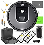 iRobot Roomba 960 Robotic Vacuum Cleaner Wi-Fi Connectivity + Manufacturer's Warranty + Extra Sidebrush Extra Filter Bundle Larger Image