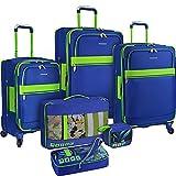US Traveler Alamosa 6-Piece Luggage Set