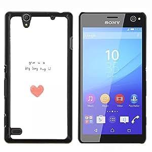 Dragon Case - FOR Sony Xperia C4 - give you a hug - Caja protectora de pl??stico duro de la cubierta Dise?¡Ào Slim Fit