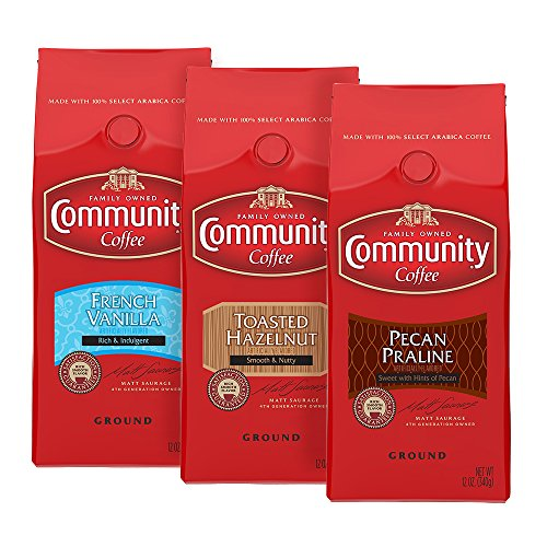 Community Coffee Ground Flavored Variety